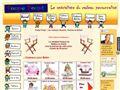 annuaire 4-sharing Peignoir personnalisé